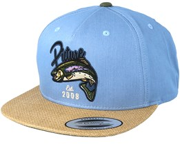 Bakers Denim Snapback - Picture