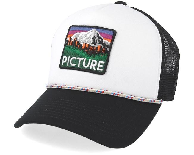 Denver White Black Trucker - Picture - Start Kšiltovka - Hatstore.cz 196df0271b