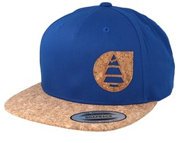 Narrow Blue Snapback - Picture