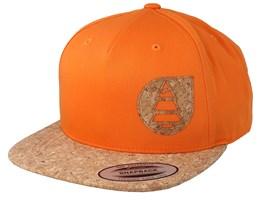 Narrow Orange Snapback - Picture