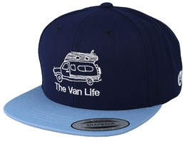 Roy Dark Blue Snapback - Picture