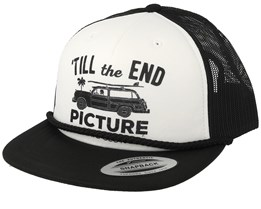 Nesika White/Black Trucker - Picture