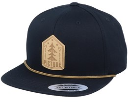 United Black Strapback - Picture