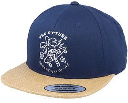 Beaver Dark Blue Snapback - Picture