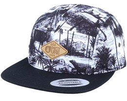 Faro Atlas Black/White 5-Panel - Picture