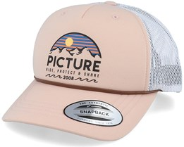 Kuldo Peach Pink/White Trucker - Picture