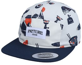 Faro 5P Cap Fooding White 5-Panel - Picture
