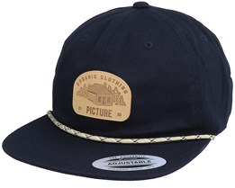 United Soft Cap Black Snapback - Picture