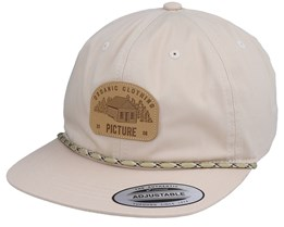 United Soft Cap Beige Snapback - Picture