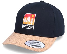 Malme Bb Cap Black/Cork Adjustable - Picture