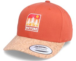 Malme Bb Cap Redwood/Cork Adjustable - Picture