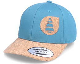 Linos Cap Hydro Blue/Cork Adjustable - Picture