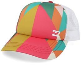 Tropicap Geo/White Trucker - Billabong