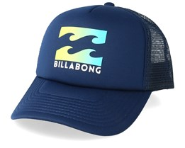 Kids Podium Navy/Lime Trucker - Billabong