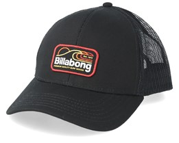Walled Black/Multi Trucker - Billabong