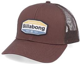 Walled Brown Trucker - Billabong