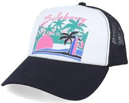 Aloha Forever White/Black Trucker - Billabong