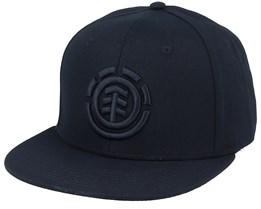 Knutsen Cap Flint Black Snapback - Element