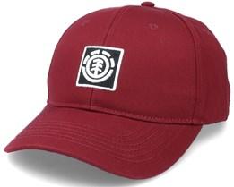 Treelogo Cap Vintage Red Adjustable - Element