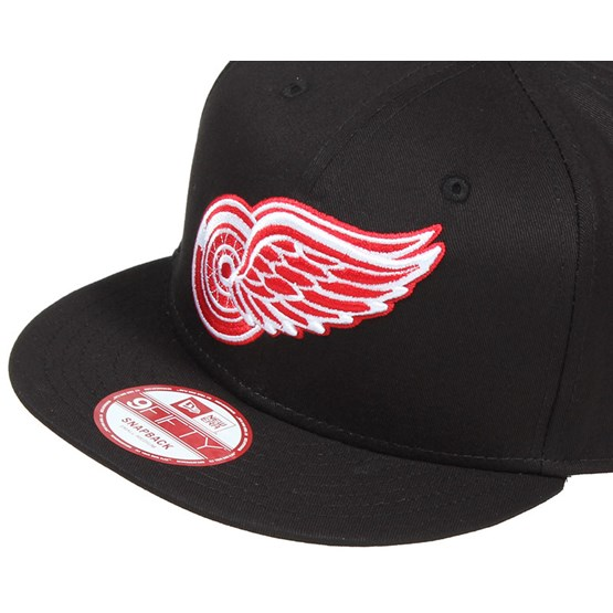 wholesale dealer fe765 60f4d Detroit Red Wings NHL Black Basic 9Fifty Snapback - New Era caps -  Hatstoreworld.com