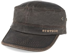 Army Co/Pes Dark Brown Adjustable - Stetson