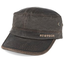 f7fbcd77834 Stetson Army Co Pes Dark Brown Adjustable - Stetson  38.99