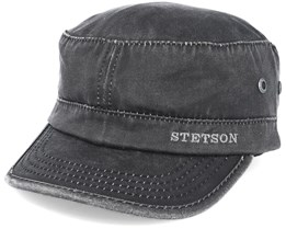 Army Co/Pes Black Adjustable - Stetson