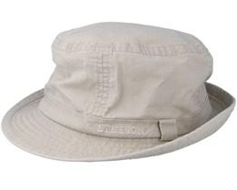 Delave Organic Cotton Beige Trilby - Stetson