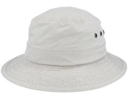 Delave Organic Cotton Beige Bucket - Stetson