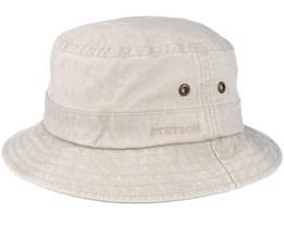 Delave Oragnic Cotton Beige Bucket - Stetson
