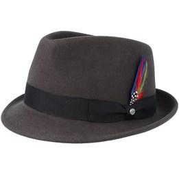 5d43e6b1 Walker Woolfelt W-P Loden Green Fedora - MJM Hats hats ...