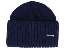 Merino Wool Dark Blue Cuff - Stetson