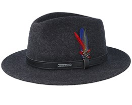 Woolfelt Mix Black/Black Traveller - Stetson