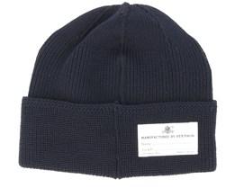 Merino Wool 2 Black Beanie - Stetson