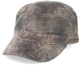Army Pigskin Dark Brown Adjustable - Stetson