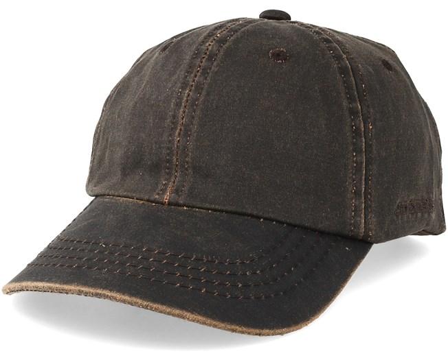 Baseball Cap Brown Adjustable - Stetson caps  2c34c9b4c7d5