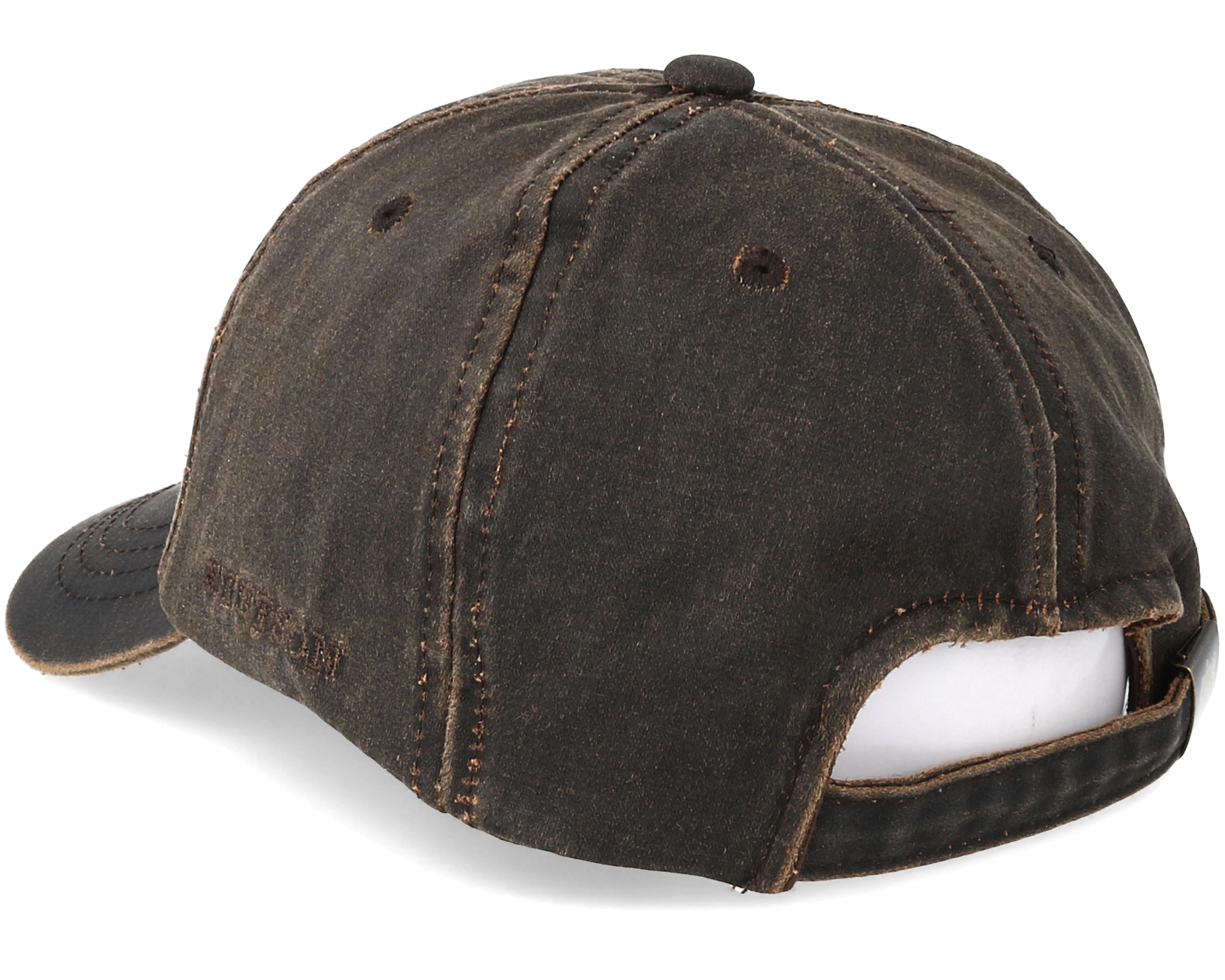 Baseball Cap Brown Adjustable Stetson Caps