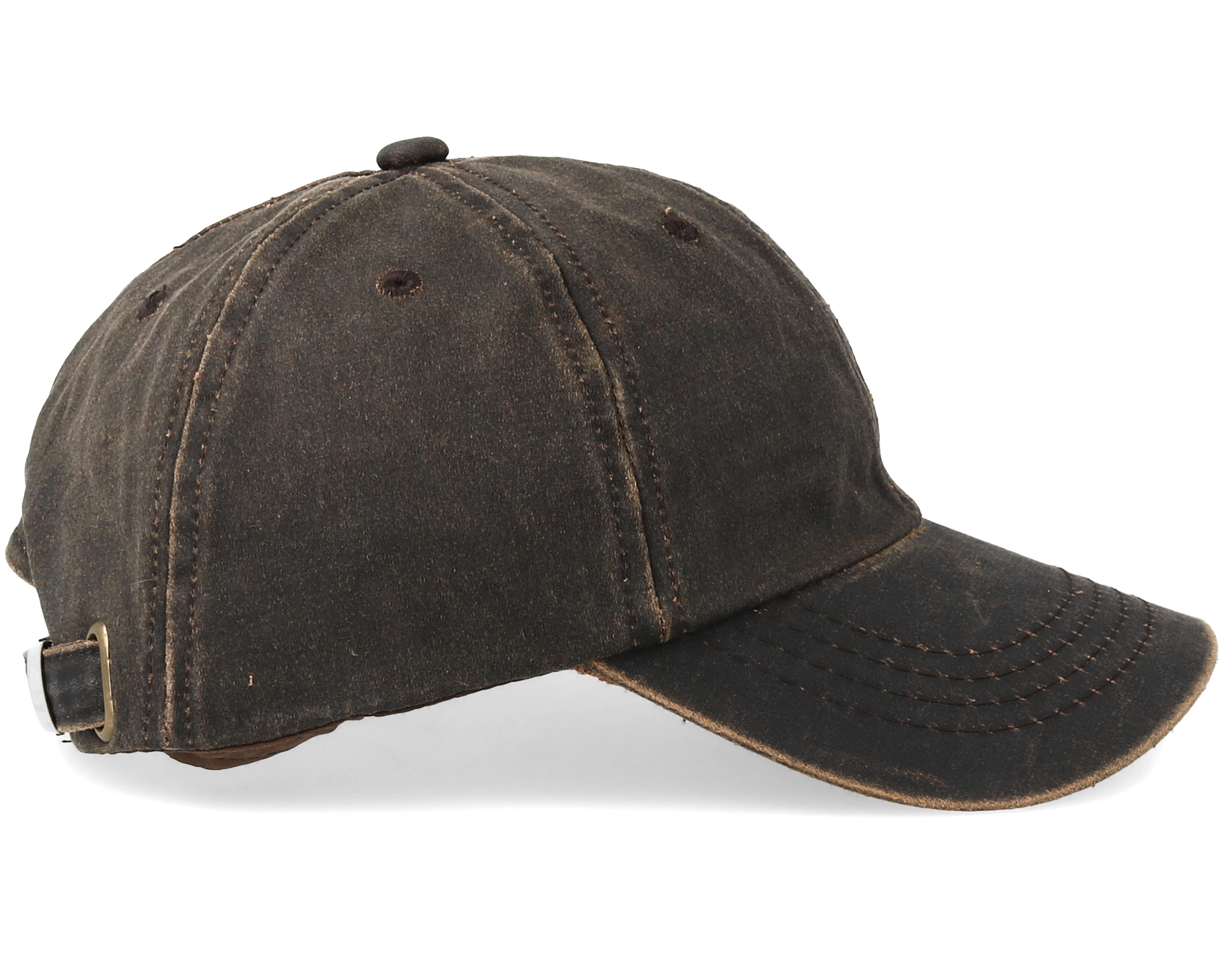 Baseball Cap Brown Adjustable Stetson Keps Hatstore Se