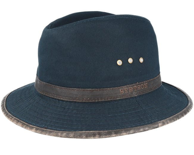 Cotton Black Traveler - Stetson hats - Hatstoreworld.com 3d7206d7ec6