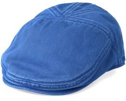 Ivy Cotton Blue Flat Cap - Stetson