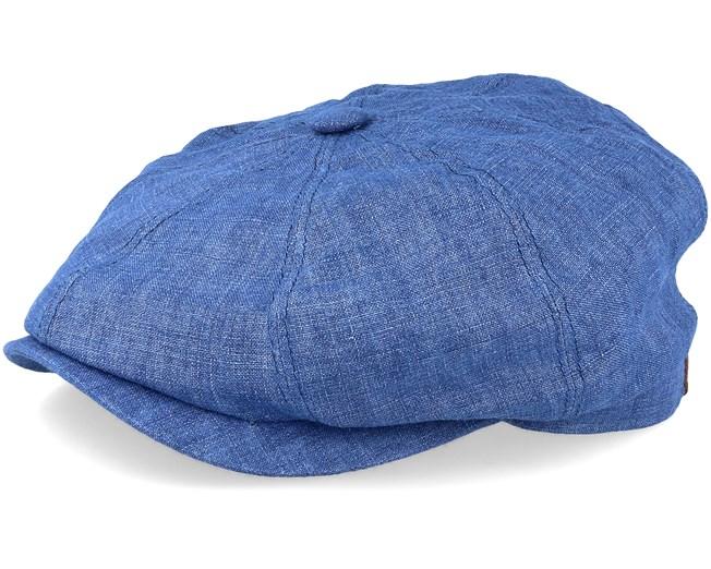 9df1d2af Hatteras Linen Blue Flat Cap - Stetson caps | Hatstore.ie