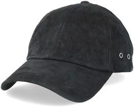 Baseball Cap Pigskin Black Adjustable - Stetson