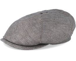 6-Panel Cap Linen Beige Flat Cap - Stetson