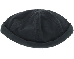 Docker Cotton Black Short Beanie - Stetson