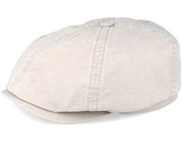 6-Panel Cap Delave Organic Cotton Beige Flatcap - Stetson