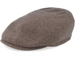 Kent Wool/Cashmere Brown Flat Cap - Stetson