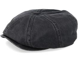 Hatteras Co/Pe Black Flat Cap - Stetson
