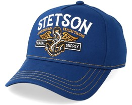 Naval Supply Trucker Cap Navy Flexfit - Stetson