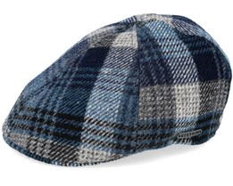 Texas Woolrich Check Grey/Blue - Stetson