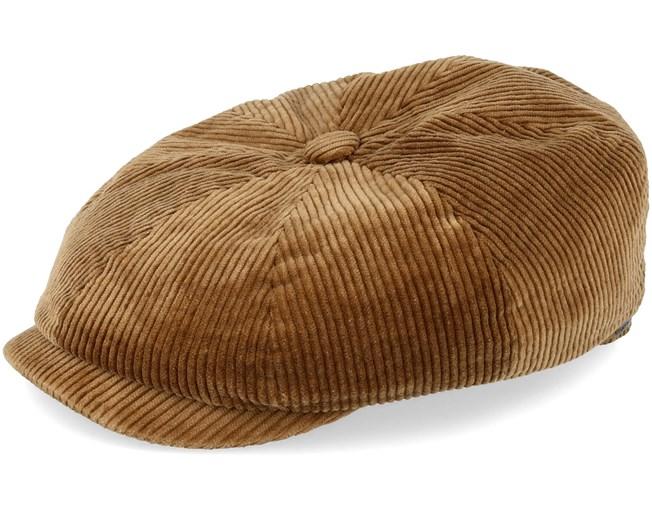 neue Produkte für Super Specials ausgereifte Technologien Hatteras Cord Manchester Brown Flat Cap - Stetson caps ...